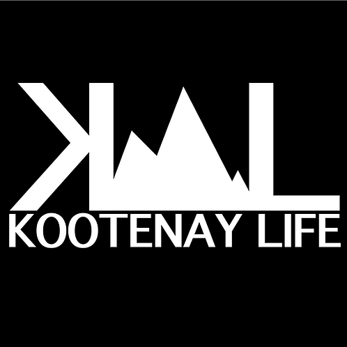 OG Kootenay Life Sticker - White