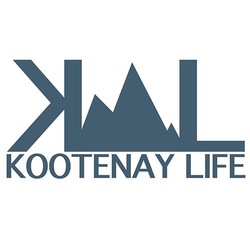 OG Kootenay Life Sticker - Slate Blue