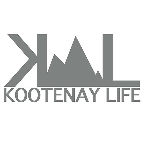 OG Kootenay Life Sticker - Grey