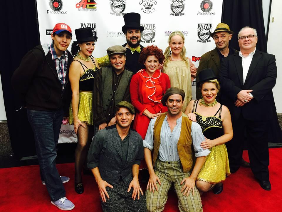 Razzie Awards cast