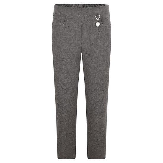 Grey 2 pocket girl trouser