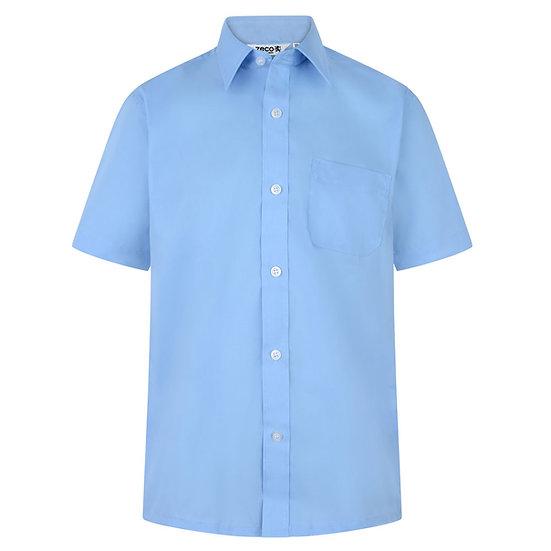 Blue School Blouse (Twin Pack)
