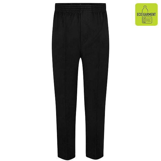Full elastic pull up trouser