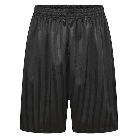 Black P.E shorts