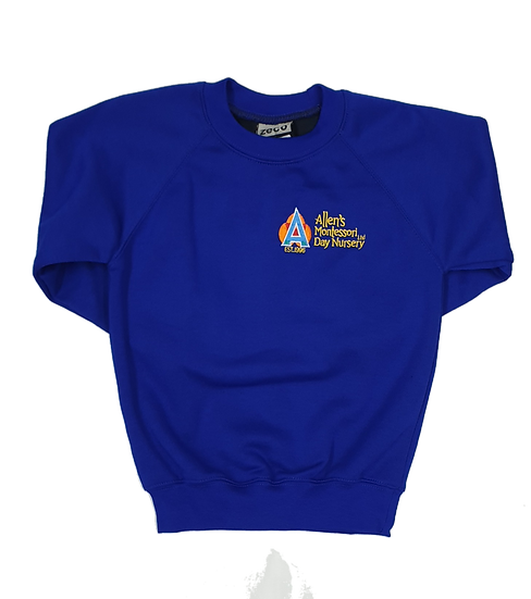 Allens Montessori Nursery sweatshirt