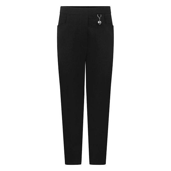Black 2 pocket girl trouser