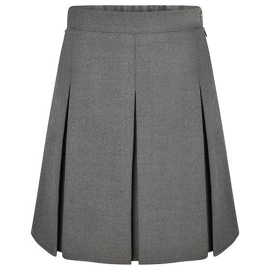 New Stitched Down Box Pleat Skirt