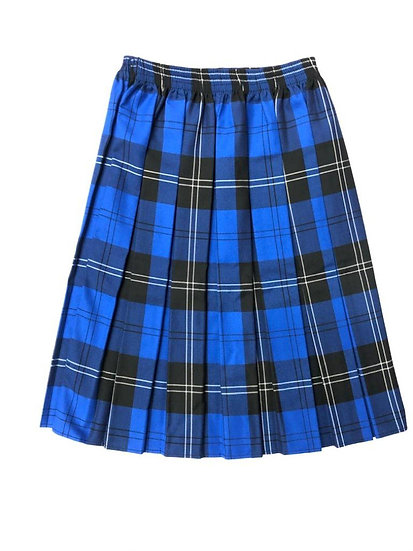 Virgo Fidelis Tartan Skirt - Box pleat