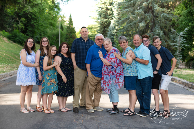 The Grigsby Family - Memory Grove Park, Utah