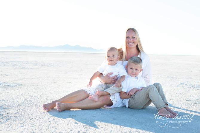 The Walker Family - Great Salt Lake, Utah