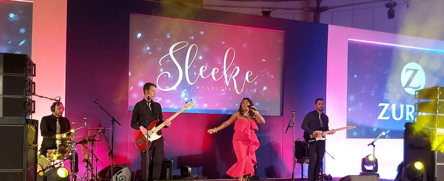 Tashara Forrest with Sleeke Band Live