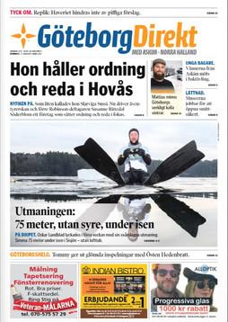 Hon håller ordning och reda i Hovås