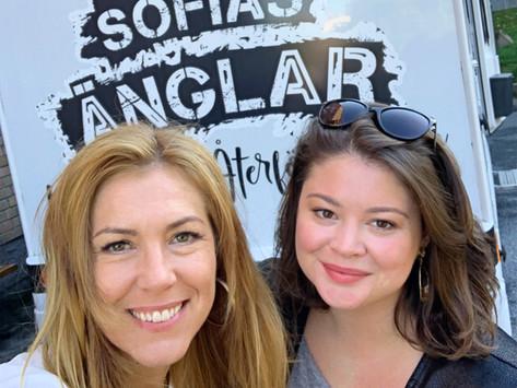 Ordningskonsulten Susanne Rittedal Söderblom hjälper familj i Sofias Änglar–Den Stora Återföreningen