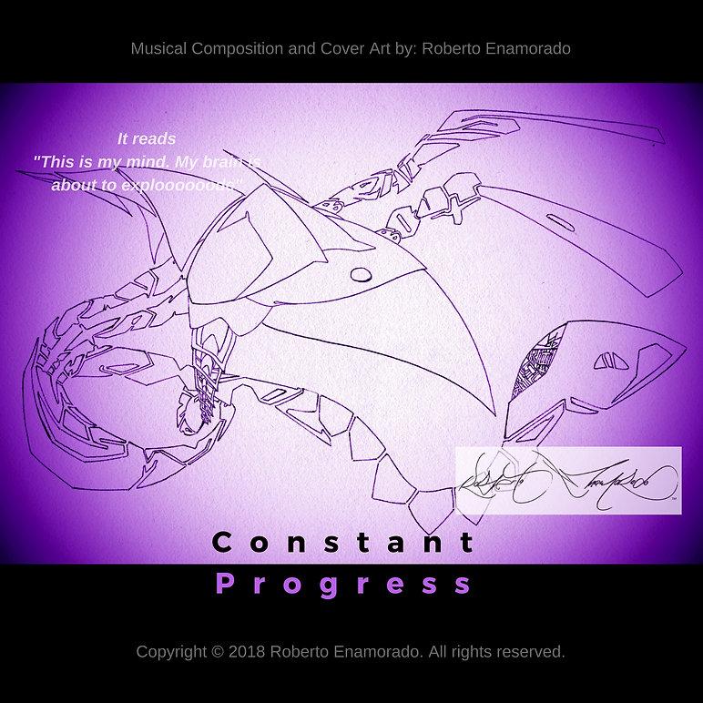 ConstantProgress Cover Art by: Roberto Enamorado