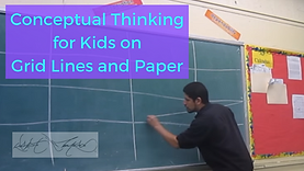 Conceptual Thinking With Kids on Grid Li
