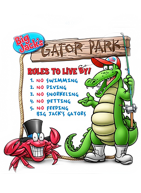 Bayou bills gator sign.png