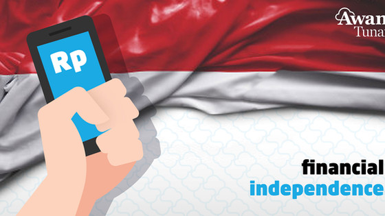 State of Indonesians' financial independence in the lead up to Hari Kemerdekaan RI