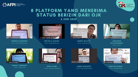 AwanTunai is awarded full permanent fintech license by OJK regulators