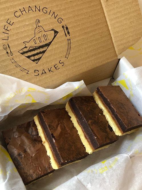 Millionaire's Brownie Box