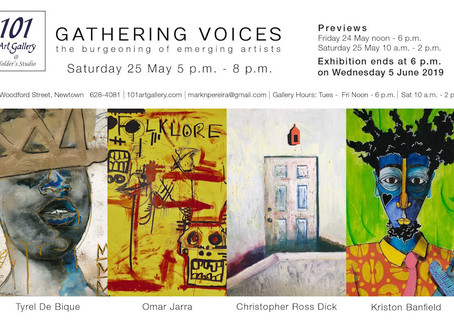 'Gathering Voices' - a recent exhibition, thoughts on the emergence of the emerging artist.