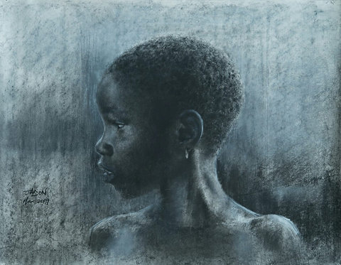 'Young African Girl'