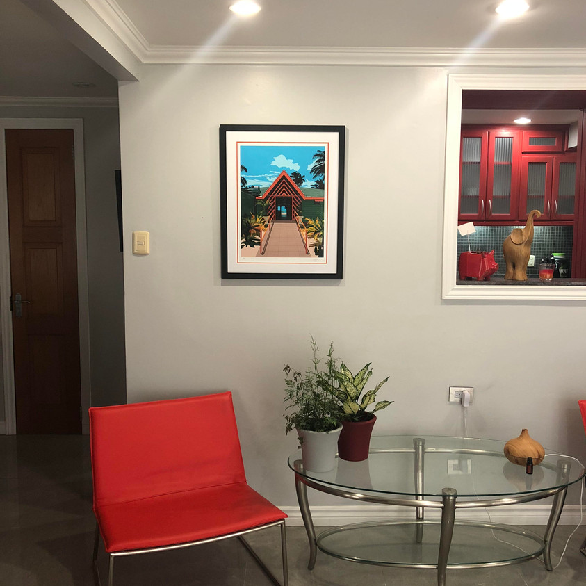 Complimenting art and space