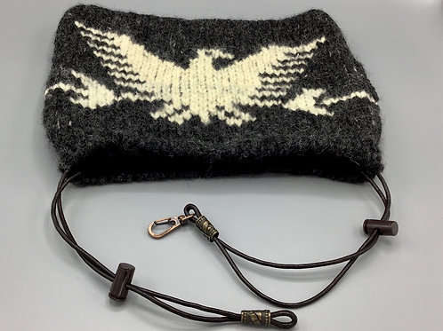 アイアンカバー イーグル 2色カウチン編み