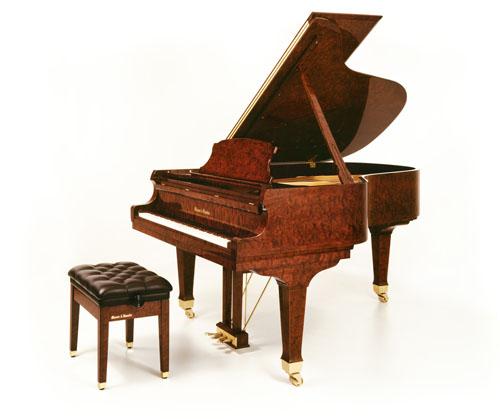 Quilted Bubinga Piano Resize