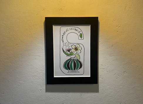 gimmickアートギャラリー 店内に飾ってある絵が新しくなりました!(内山)