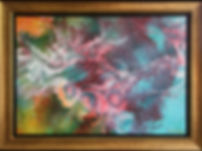 Fiore 57 x 75cm (Size including frame) - Sold