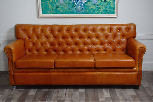 SILLON CHESTERFIELD VERGEL 3 CUERPOS SUELA HOME