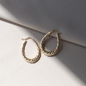 Laguna Hoop earrings