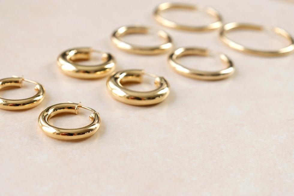 Gouden oorringen Rosmolino Jewellery 5