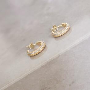Luna Hoops Gold