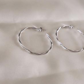 Diadora Silver Hoops