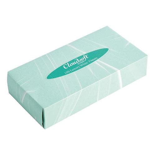 Cloudsoft Professional Standard Tissues Box 100 Qty (FAC004)