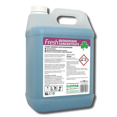 Fresh Deodoriser Concentrate Candy x 5Ltr