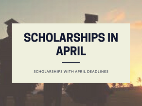 29 College Scholarships due in April