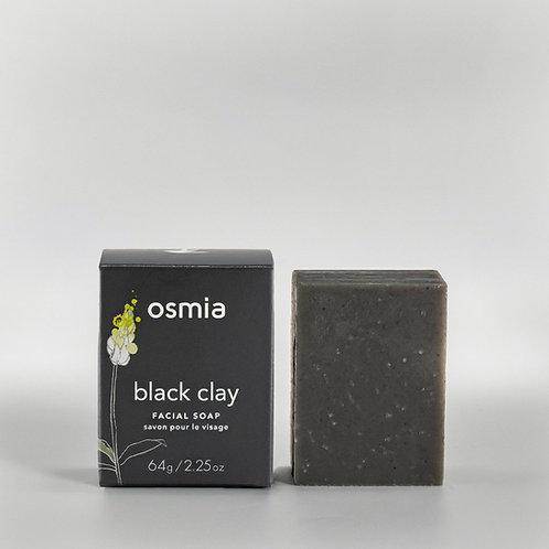 Osmia Black Clay Facial bar