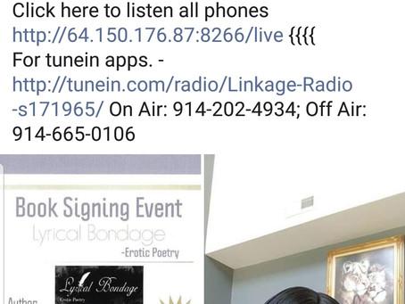 Radio Interview w/Lady D on Linkage Radio