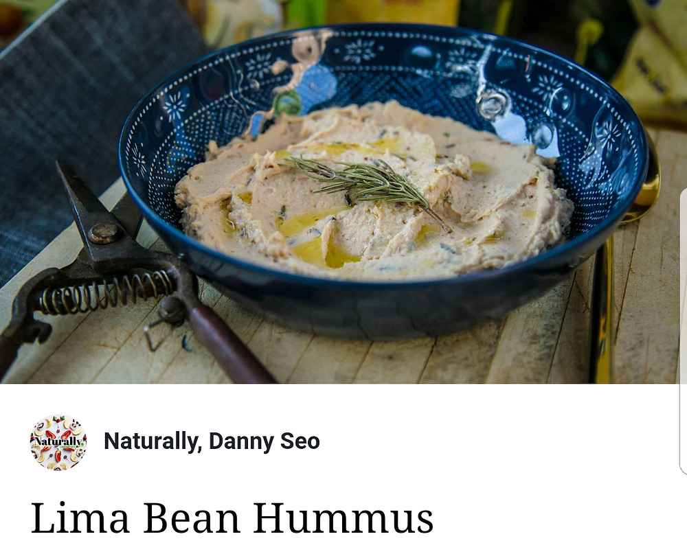 Lima Bean Hummus