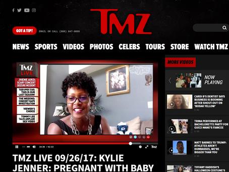 Pauline was on TMZ LIVE - September 26, 2017