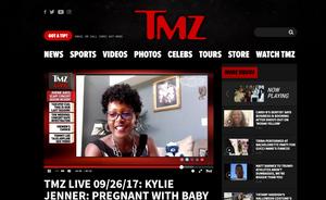 Pauline on TMZ Live September 26, 2017