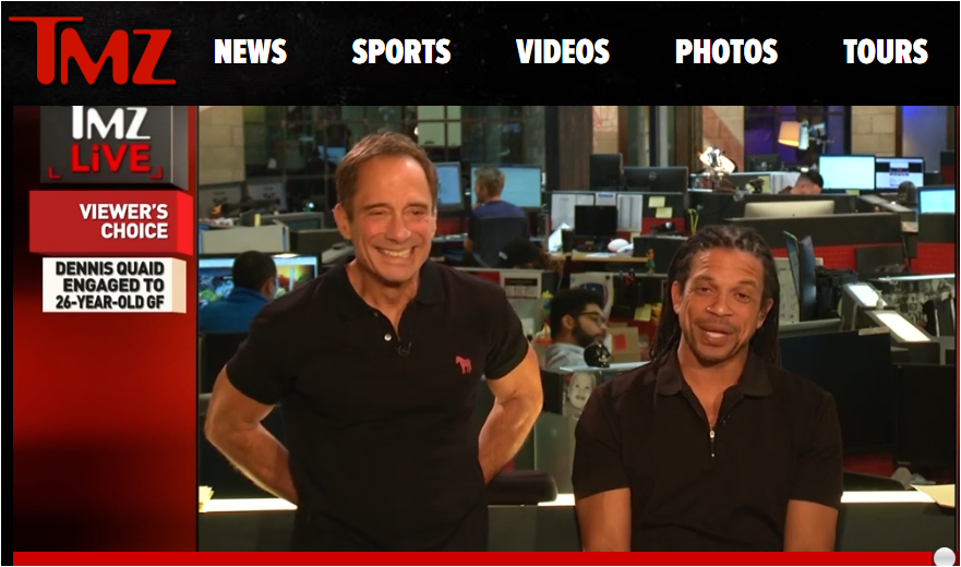 TMZ Live Featuring Harvey and Charles