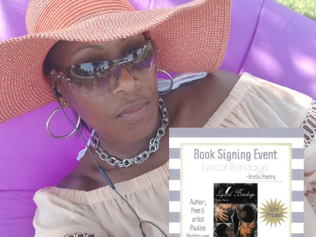 My Official Book Signing is Today!