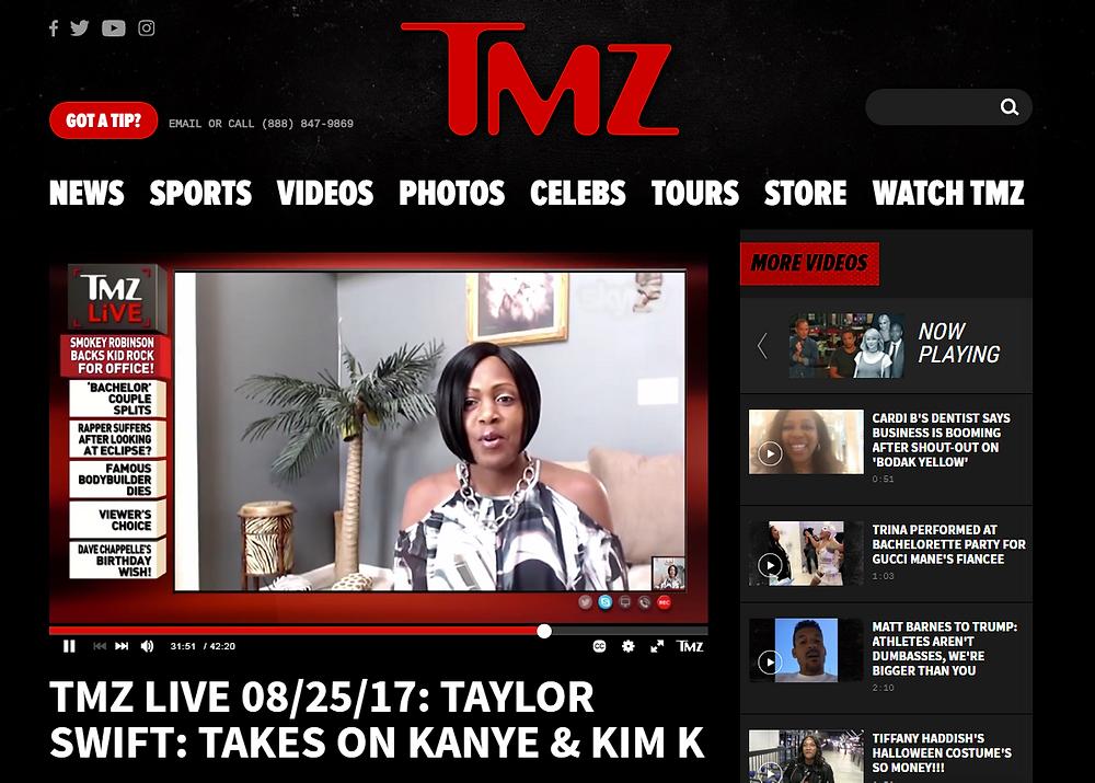 Pauline on TMZ Live - August 25, 2017