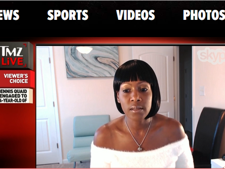 Me on TMZ-Live Discussing Miley Cyrus w/Harvey and Charles