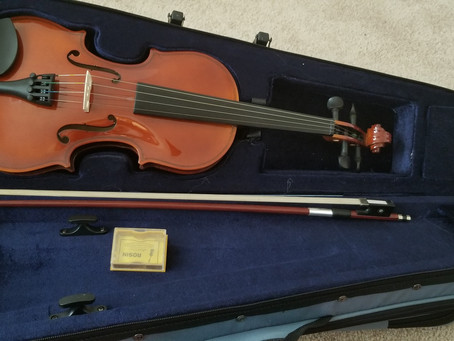 My Violin Arrived Today