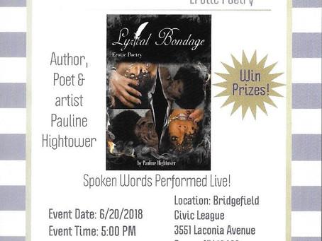 Lyrical Bondage - Book Signing Event