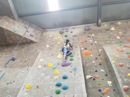 Rock Climbing w/Son & Daughter 😘